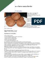 Muffin Di Cacao e Farro Senza Lievito