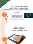 MAQUETAS TOPOGRÁFICAS expo