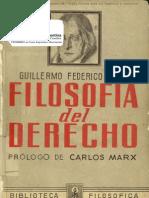 Hegel Guillermo Federico Filosof a Del Derecho (2)