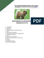 Exposiciones Mundiale Seccion CANINOS