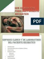 ENFOQUE CLINICO DEL PACIENTE REUMÁTICO
