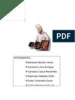 PRODUCCION Y COMERCIALIZACIÓN DE PRODUCTOS DE PASTELERIA