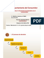 Tema 4. El Proceso de Decision en El Consumidor (1)