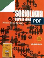 Introdução À Sociologia Ensino Médio Nelson Dacio Tomazi.Volume Unico - blog - conhecimentovaleouro.blogspot.com
