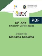 Modelo de Prueba Estudios Sociales Decimo Basico