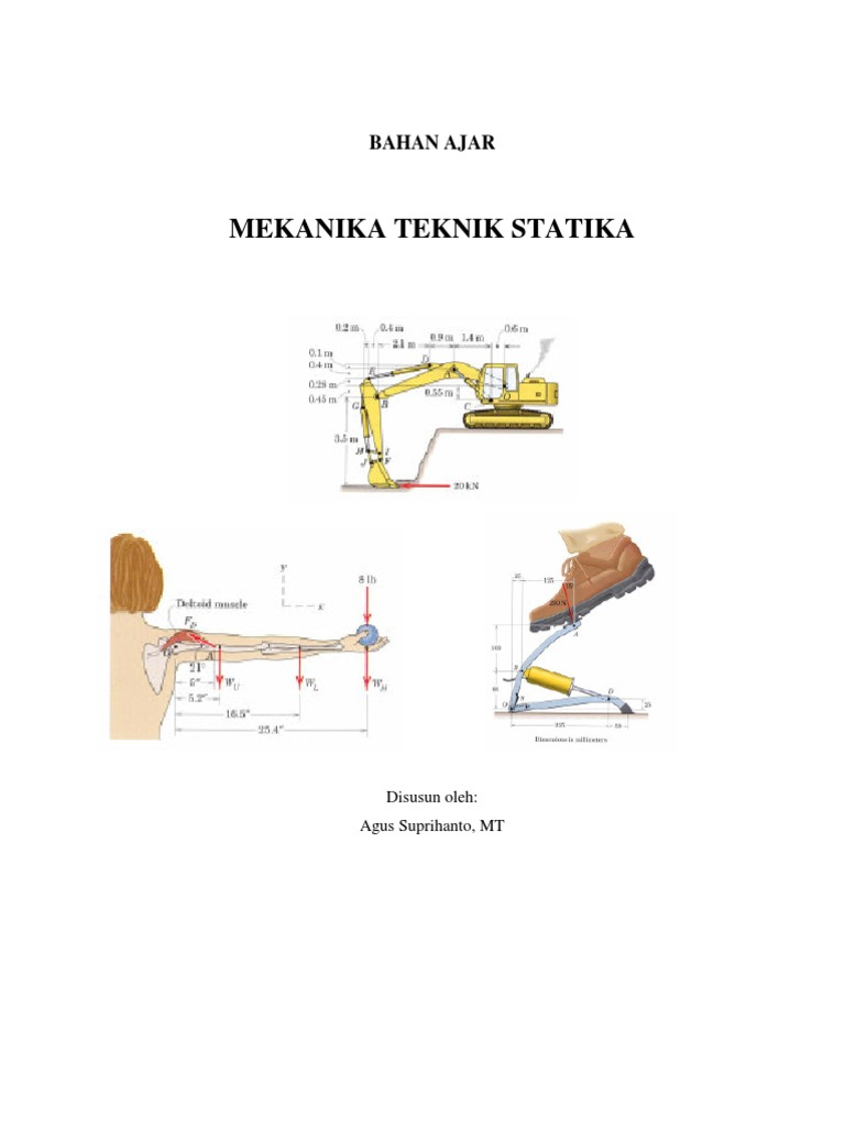 Buku ajar mekanika teknik statika ccuart Gallery