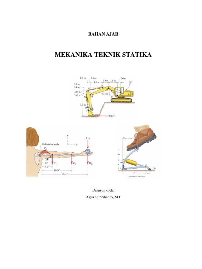 Buku ajar mekanika teknik statika ccuart Image collections