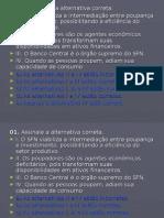 CPA 10 - Questionário II