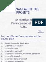 31-Le contrôle de l'avancement et des coûts