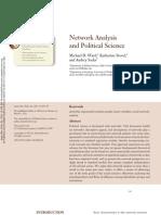 Analise Em Rede e Ciencia Politica