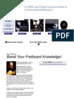 Adam Rafferty's Fret Scale Lessons