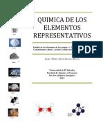 Unidad II. Quimica de Los Elementos Representativos