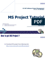 MS Project Tutorial