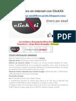 Gana Dinero en Internet Con ClickXti