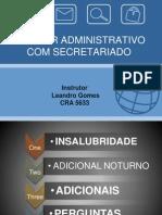 Curso Secretariado Administrativo Aula 8