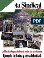 Pub70023 Gaceta Sindical (Edicion Especial n 108) Marcha Negra en Defensa de La Mineria