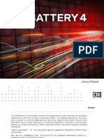 Battery 4 Library Manual English