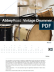 Abbey Road Vintage Drummer Manual English