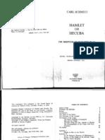 Schmitt - Hamlet or Hecuba