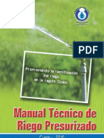 Manual Tecnico de Riego Presurizado