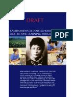 2013-14 KMS 1:1 Learning Program Guidebook