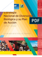 Estrategia Nacional de Diversidad Biológica y Plan de Acción