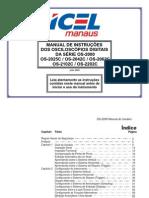 OS-2000 Manual da Série - Julho 2009