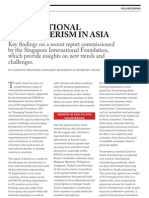 INTERNATIONAL VOLUNTEERISM IN ASIA
