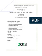 Proyecto Pan y Levadura