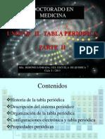 Unidad II Parte II. Tabla Periodica Med -2013 Estu