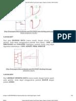 Tutorial AutoCAD Gambar Kerja Rumah Tinggal – Bagian 1 (Denah) - 2