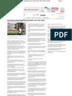 Jakarta Globe Article 02-02-2011