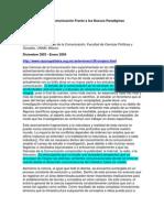 Las Ciencias de la Com Frente a Nuevos Paradigmas Científicos