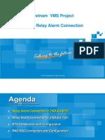 Relay Alarm Connection(VMS)