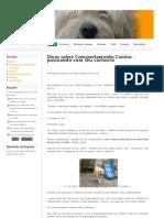 Dicas sobre Comportamento Canino.pdf