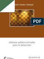 Alianzas Público Privadas  Para El Desarrollo
