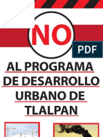 No Al Programa de Desarrollo Urbano de Tlalpan Salvemostlalpan@Gmail.com