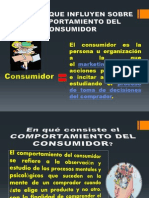 Factores Que Influyen Sobre El Comp.consumidor Mct.