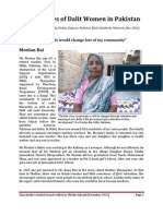 Case Studies of Dalit Women in Pakistan