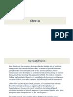 7 Ghrelin Signalling