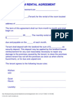 Room Rental Agreement 1