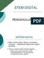 Pendahuluan Sistem Digital