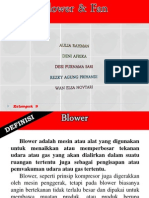 Blower, Dan Fan