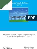 Hacia La Concertación de Alianzas Público Privadas en América Latina