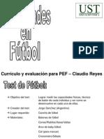 Evaluacion Tecnica Futbol
