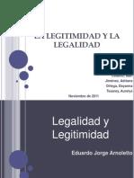 La Legitimidad y La Legalidad_exposicion