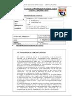Proyecto Innovacion CUENTO MATEMATICO_Edken95