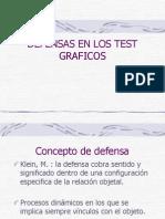 Defensas en Los Test Graficos