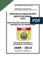 1 P. E. I. 2009 - 2013(Nuevo)