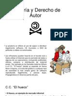 Piratería y erecho de Autor